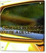 Incepticons May Be Closer Acrylic Print