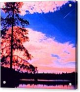 Incoming Over Algonquin Park 2 Ae Acrylic Print