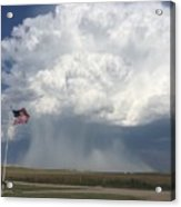 Independence Day In Sioux County Nebraska Acrylic Print