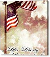 Independence Day Usa Acrylic Print