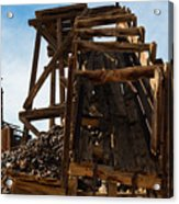 Independence Gold Mine Ruins Acrylic Print