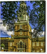 Independence Hall-philadelphia Acrylic Print