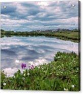 Independence  Pass Pond Acrylic Print