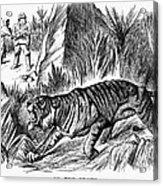 India: Famine, 1896 Acrylic Print