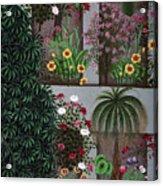India: Garden Acrylic Print