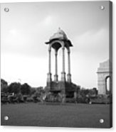 India Gate - Monochrome Acrylic Print