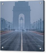 India Gate Acrylic Print