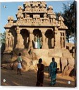 India Mahabalipuram  Acrylic Print