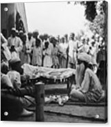 India: Malaria Play, C1929 Acrylic Print