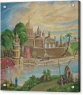 India  Acrylic Print