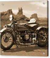 Indian 4 Sidecar Acrylic Print