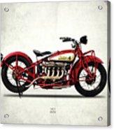 Indian 401 1928 Acrylic Print
