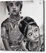 Indian Adornment Acrylic Print