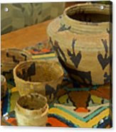 Indian Baskets 1 Acrylic Print