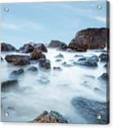 Indian Beach At Ecola State Park, Oregon  Acrylic Print