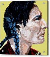 Indian Brave II Acrylic Print