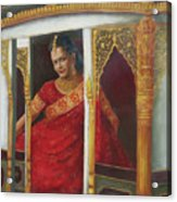 Indian Bride Acrylic Print