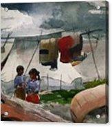 Indian Camp - Roberval P Q Acrylic Print