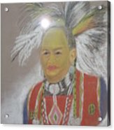 Indian Chief Acrylic Print