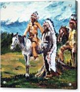 Indian Chiefs Acrylic Print