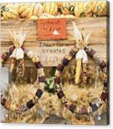 Indian Corn Wreaths Acrylic Print