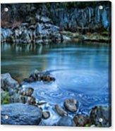 Indian Creek Acrylic Print