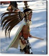 Indian Dancer 0642b Acrylic Print