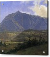 Indian Encampment Albert Bierstadt Acrylic Print
