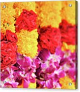 Indian Flower Garland Acrylic Print