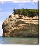 Indian Head Rock Acrylic Print
