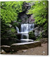 Indian Ladder Falls Acrylic Print