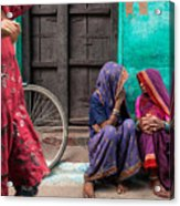 Indian Mood Acrylic Print