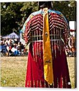 Indian Nation Pow Wow Dancers Acrylic Print