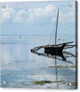 Indian Ocean At Lowtide Acrylic Print
