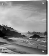 Indian Point Beach - Oregon Coast Acrylic Print
