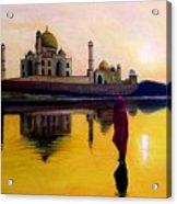 Indian Prayer Acrylic Print