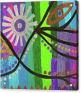 Indian Rainbow Dance Acrylic Print