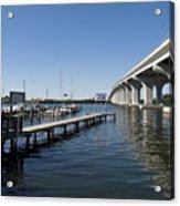 Indian River Lagoon At Vero Beach In Florida Acrylic Print