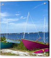 Indian River Lagoon On The Easr Coast Of Florida Acrylic Print