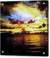 Indian Rocks Sunset Acrylic Print
