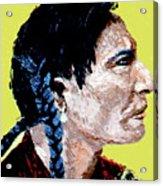 Indian Side Profile Acrylic Print