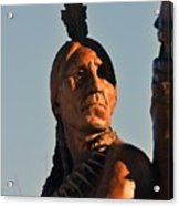 Indian Statue Acrylic Print