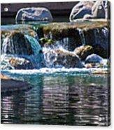 Indian Wells Waterfall Acrylic Print