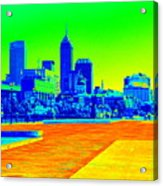 Indianapolis Heat Tone Acrylic Print