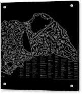 Indianapolist Motorsport Tracks Acrylic Print