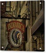 Indianica Montreal Acrylic Print
