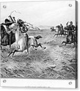 Indians/u.s. Military, 1876 Acrylic Print