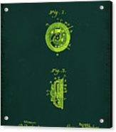 Indicator Patent Drawing 1b Acrylic Print
