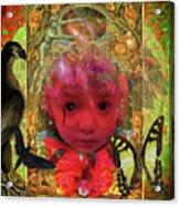 Indigo Child Acrylic Print