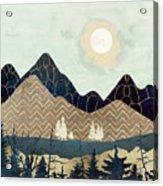 Indigo Forest Acrylic Print
